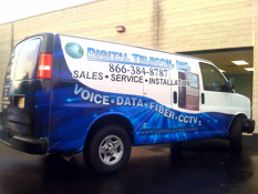 Burlington County NJ van wraps advertising