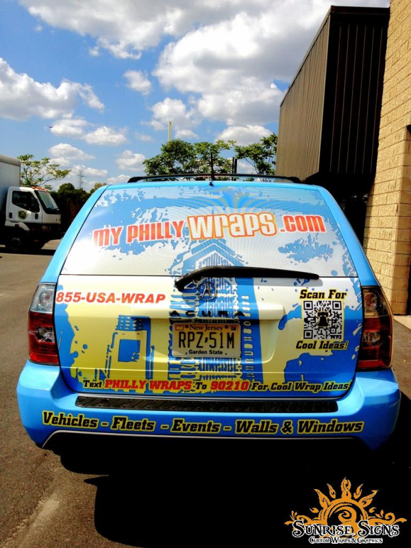 Philly wraps vehicle graphics and wraps