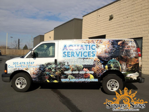 Affordable New Jersey Van Wraps
