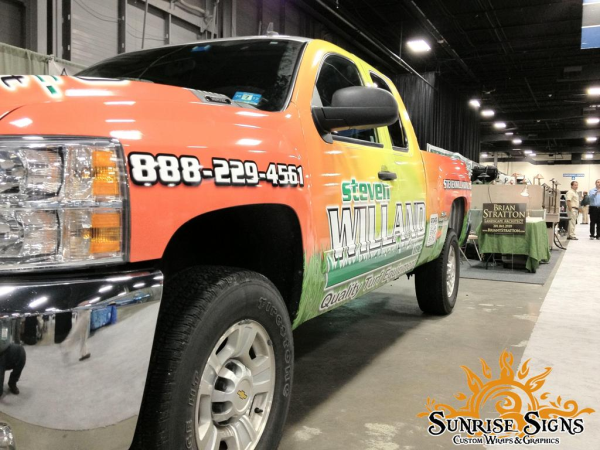 New Jersey Truck Wraps on Chevy Siverado