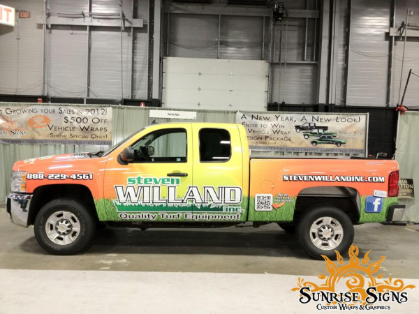 Vehicle vinyl wraps pricing for small business