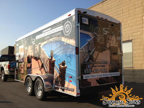 New Jersey Contractor Trailer Wraps