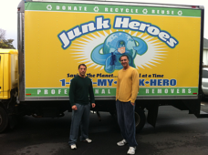 The Junk Heroes Izusu Box Truck Wraps