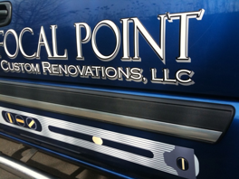 Focal Point Chevrolet Pick-Up Truck Graphics
