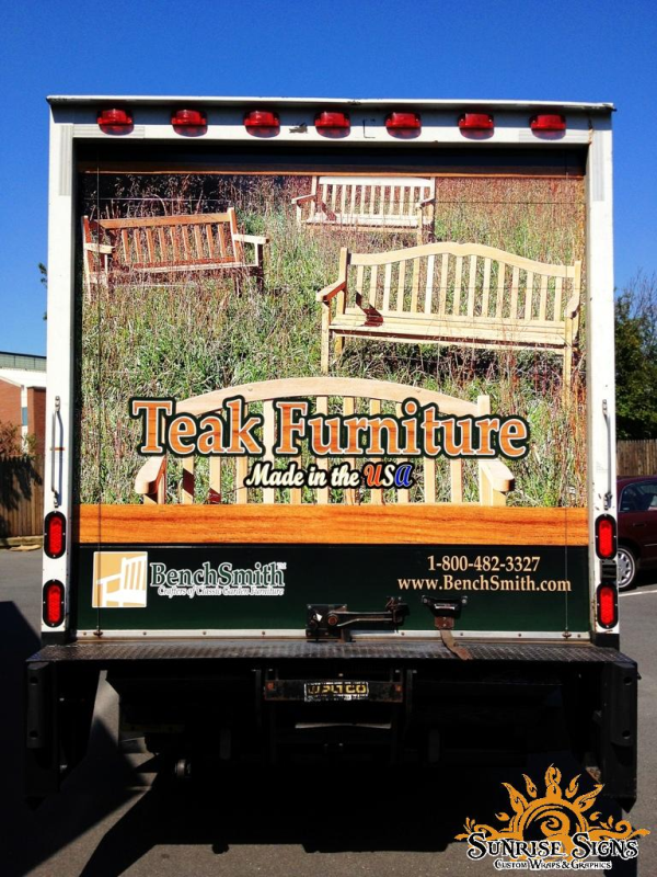 Bucks County box truck wraps