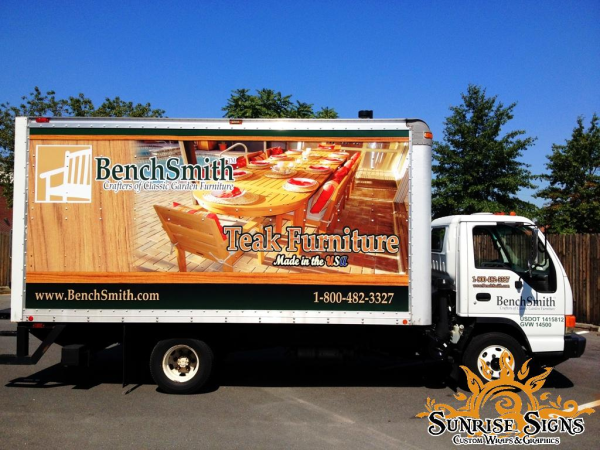Retailer Delivery box truck wraps