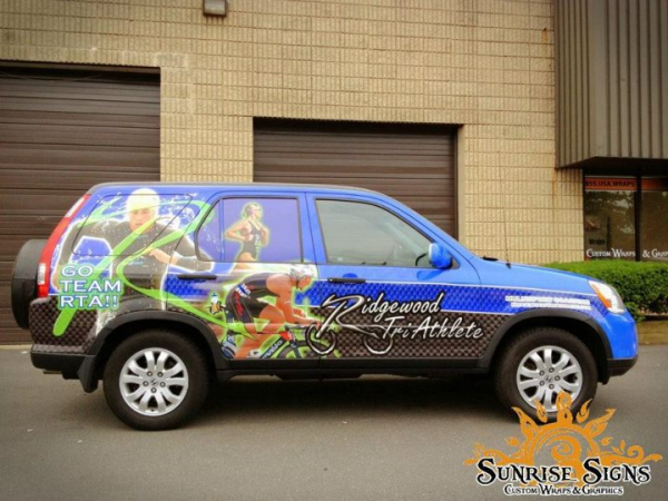 Fitness Center Car Wraps Advertising