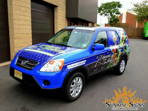 Honda CRV car wraps nationwide car wraps advertising