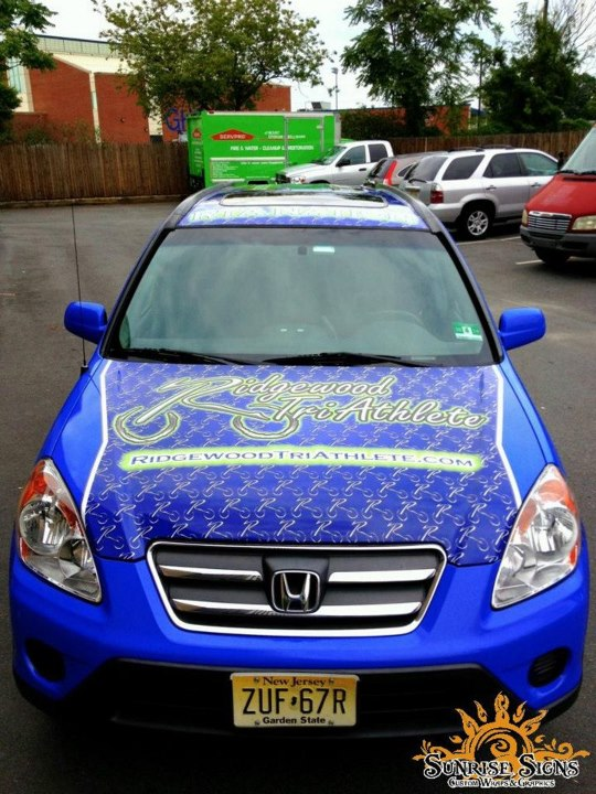 Bergen County New Jersey Car Wraps Advertising