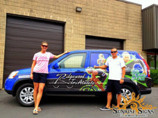 Ridgewood Tri Athlete Honda CRV Car Wraps