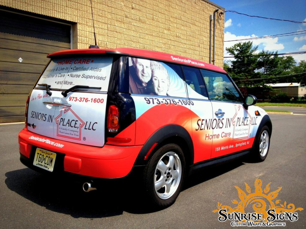 Nationwide home healthcare car wraps