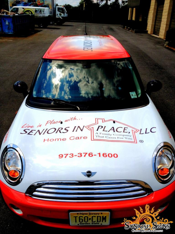 Nationwide affordable car wraps advertising