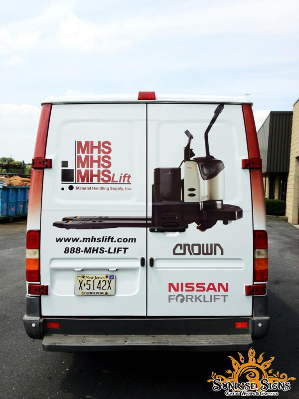 Industrial Sprinter Van Wraps