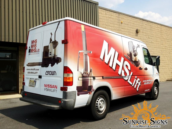 Philadelphia and New Jersey Sprinter Van Wraps