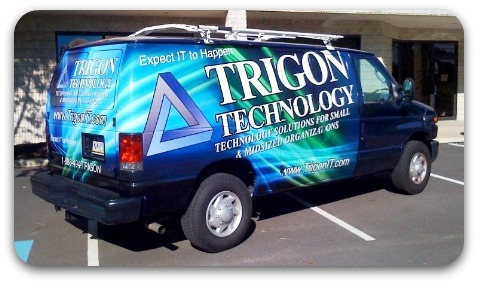 technology service vehicle wrap
