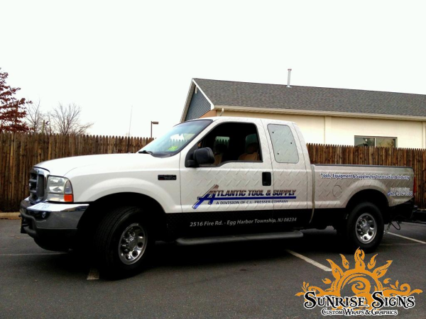 Ford F250 Extended Cab Truck Wraps
