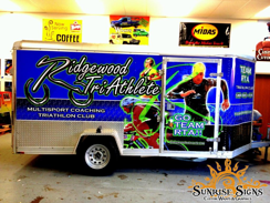Fleet trailer wraps and graphics
