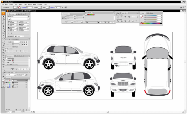 Vehicle Wrap Design In Easy Steps - Car wrap templates