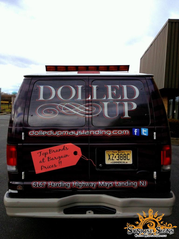 New Jersey van wraps advertising