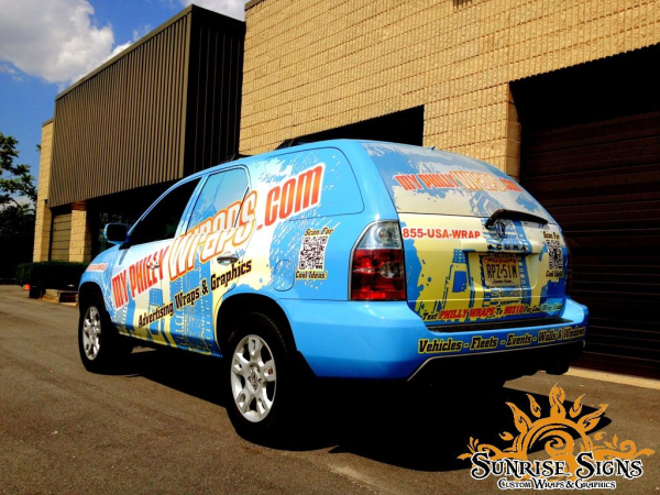 Philly and South Jersey affordable vehicle wraps