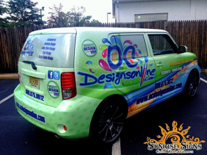 OC Designs Online Makes E-Commerce Easy With Scion xB Car Wraps in