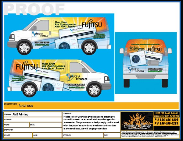 Fleet Solutions – Van Wrap Template