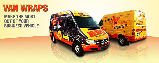 Vehicle Wraps - Van Wraps