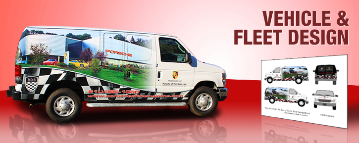 Vehicle Wraps - Vehicle Wrap Design