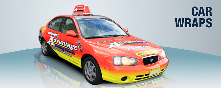 Vehicle Wraps - Car Wraps