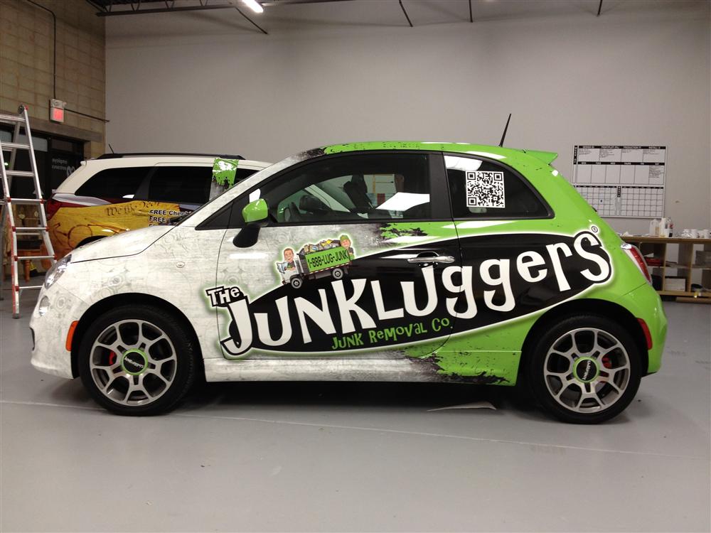 Car Wraps Project Spotlight: Fiat 500 Wrap Design and Installation