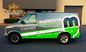 Electrical Contractor Van Wraps NJ