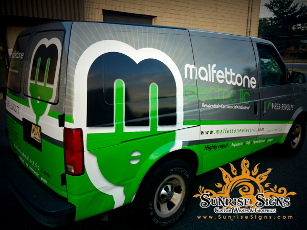 Electrical Contractor Vehicle Wraps NJ
