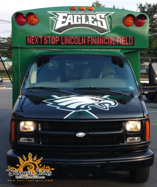 Bus wraps Philadelphia