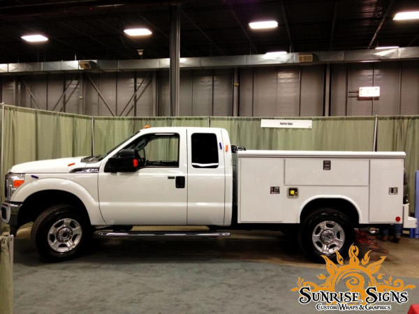 Transformation Of Contractor S Ford F350 With Truck Wraps