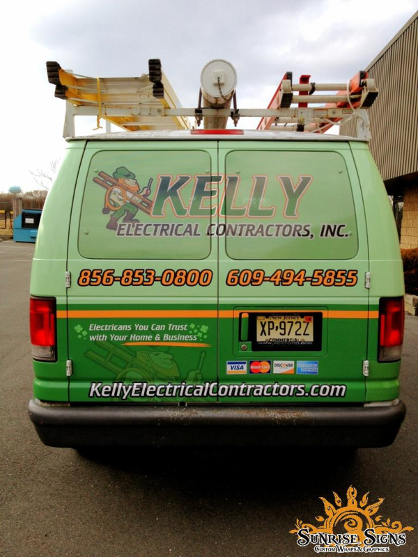 Contractor Vehicle Wraps New Jersey