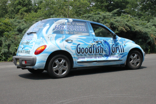 Out of sight vehicle wraps