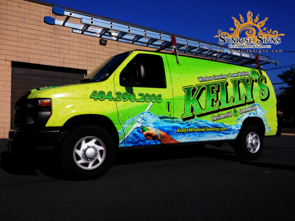 Van wraps Chester County PA