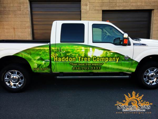 Partial Truck Wraps South Jersey