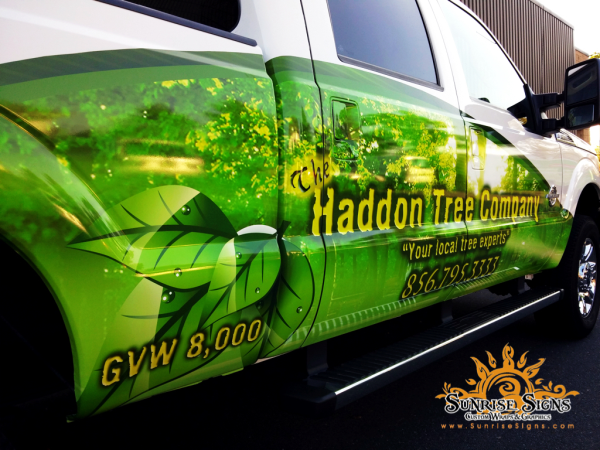 Partial Vehicle wraps for South Jersey Fleets