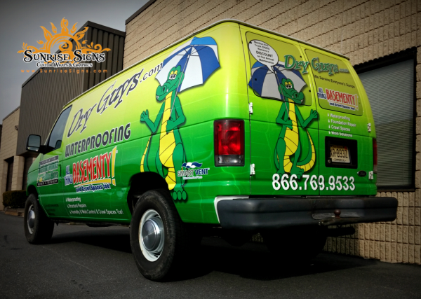 Ford Econoline van wraps South Jersey