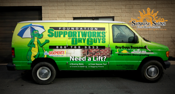 South Jersey vehicle wraps and graphics