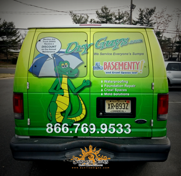 Contractor van graphics South Jersey