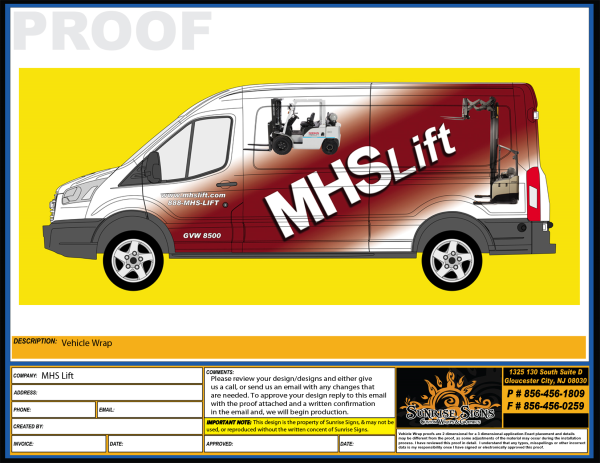Ford Transit Van Vehicle Wraps
