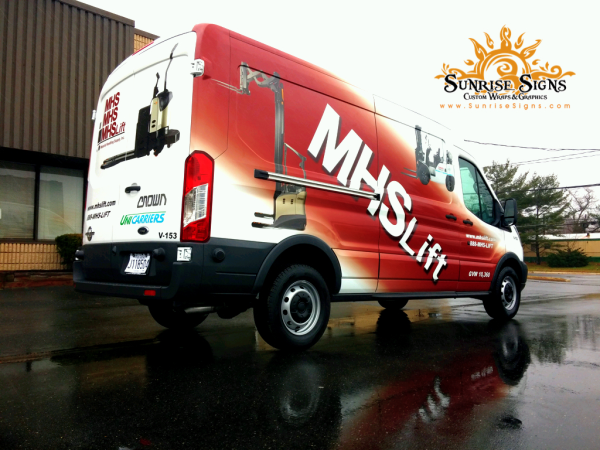 Ford Transit Van Wraps and Graphics South Jersey