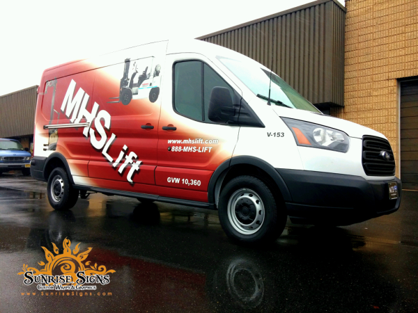 Ford Transit Van Wraps