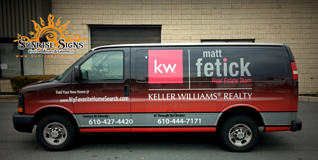 Realtor Vehicle wraps Delaware County