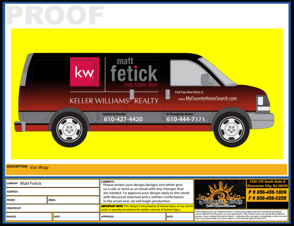 Delaware County Van Wraps