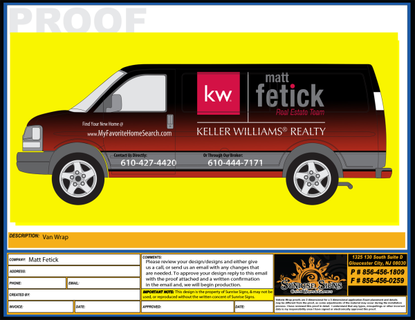 Delaware County vehicle wraps