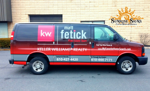 Realtor Vehicle Wraps