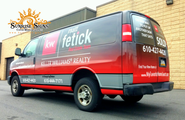 Delaware County Vinyl Vehicle Wraps
